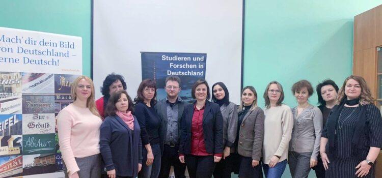Семінар для науково-педагогічних працівників кафедри та вчителів німецької мови від лектора ДААД Andre Böhm