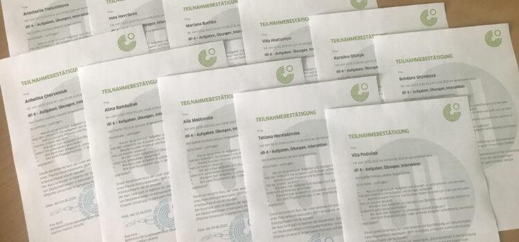 Реалізація програми Гете-інституту з підготовки вчителів німецької мови в Кам'янець-Подільському національному  університеті імені Івана Огієнка