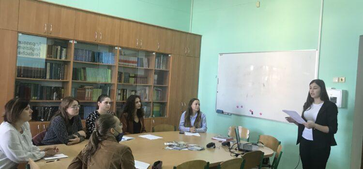 Звітна наукова конференція студентів і магістрантів університету