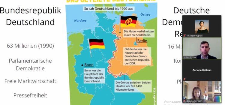 """Workshop """"Ossi! Wessi! Східняк! Західняк!  – Ost-West-Diskurs in Deutschland und in der Ukraine"""""""