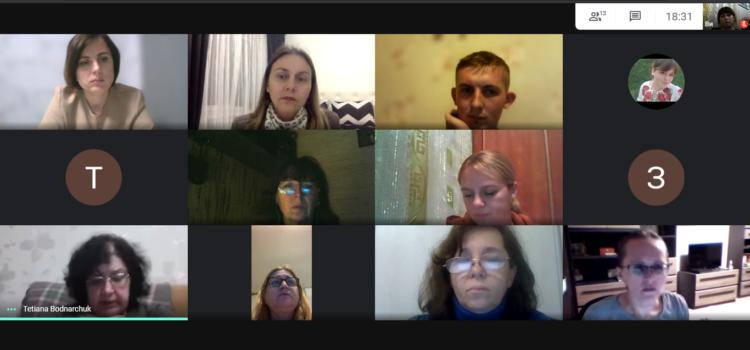 Спільне засідання кафедри німецької мови із представниками студентства факультету іноземної філології