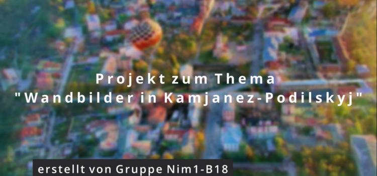 «Мурали Кам'янця-Подільського» (відео-проєкт здобувачів групи Nim1-B18)