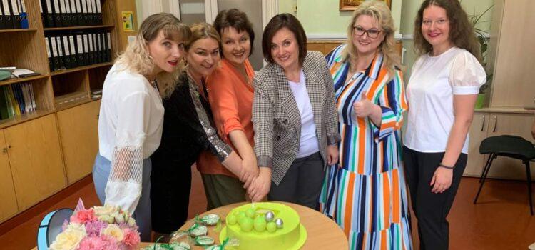 Вітаємо наших колег ліцею «Славутинка»!